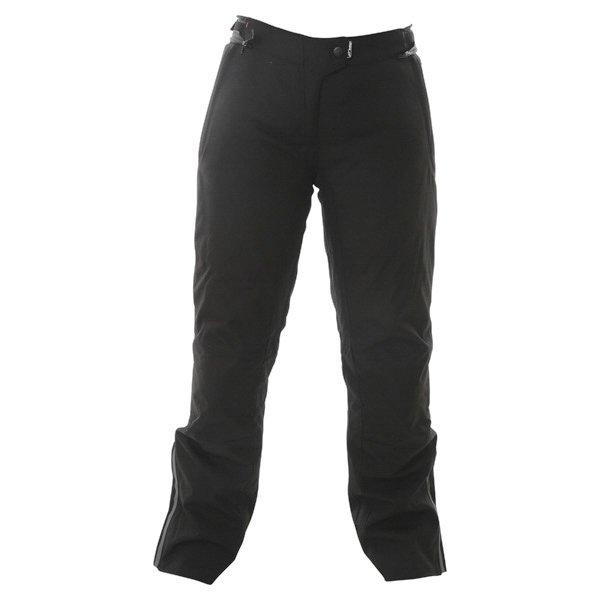 Alpinestars Stella Protean Drystar Ladies Black Purple Waterproof Textile Motorcycle Pants Front