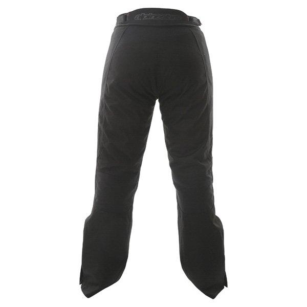 Alpinestars Stella Protean Drystar Ladies Black Purple Waterproof Textile Motorcycle Pants Rear