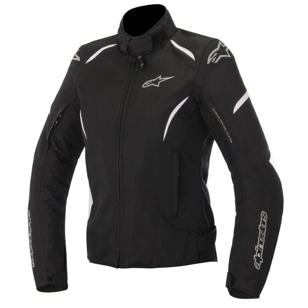 Alpinestars Stella Gunner WP Jacket Black White Size: Ladies UK - M