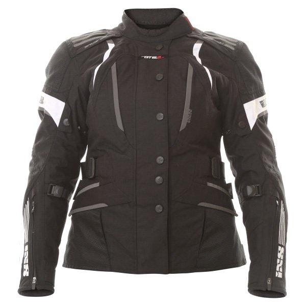 Nemesis Ladies Jacket Black White IXS Clothing