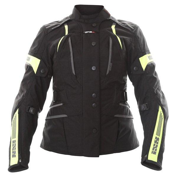 Nemesis Ladies Jacket Black Yellow IXS Clothing