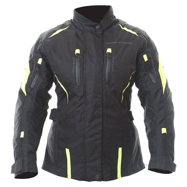 Rose Ladies Jacket Black Yellow Ladies Jackets
