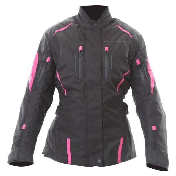 Rose Ladies Jacket Black Pink Ladies Jackets