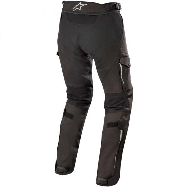 Alpinestars Stella Yaguara Drystar Ladies Black Anthractice Waterproof Textile Motorcycle Pants Rear