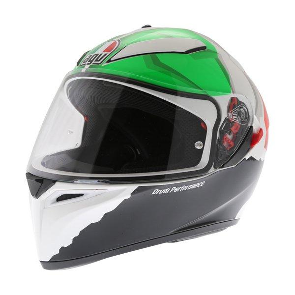 AGV K3 SV Morbidelli 2017 Full Face Motorcycle Helmet Front Left
