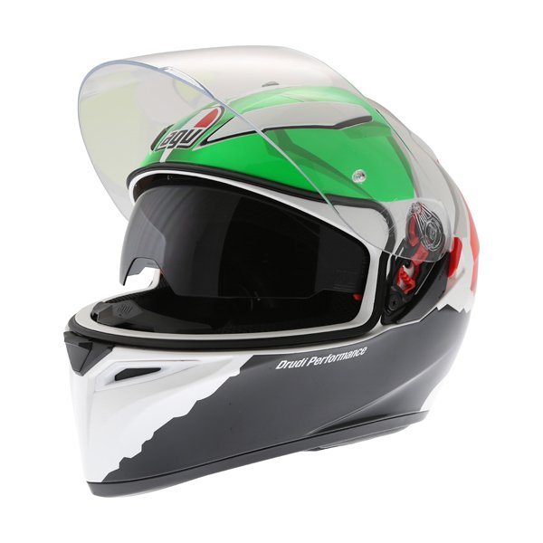 AGV K3 SV Morbidelli 2017 Full Face Motorcycle Helmet Open With Sun Visor