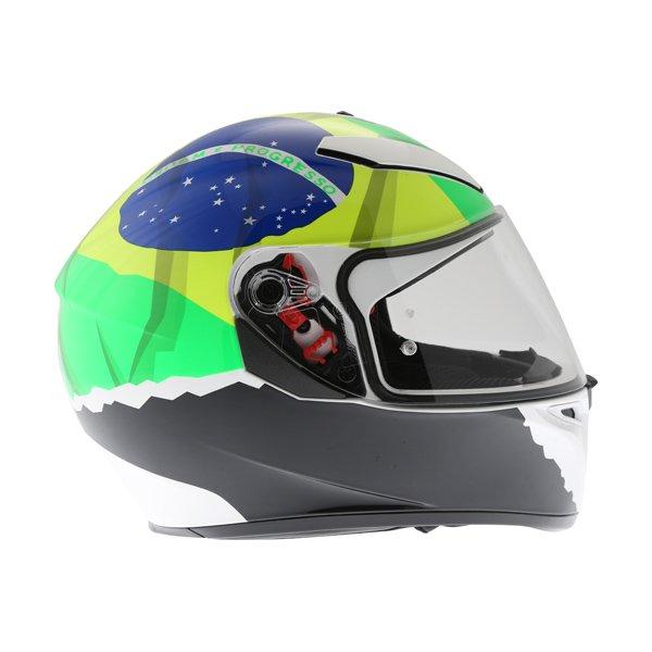 AGV K3 SV Morbidelli 2017 Full Face Motorcycle Helmet Right Side