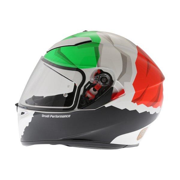 AGV K3 SV Morbidelli 2017 Full Face Motorcycle Helmet Left Side
