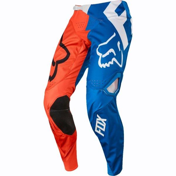Fox 360 Creo Mens Orange Motocross Pants Front