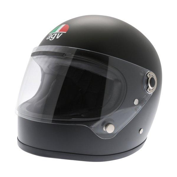 AGV X3000 Matt Black Full Face Motorcycle Helmet Front Left