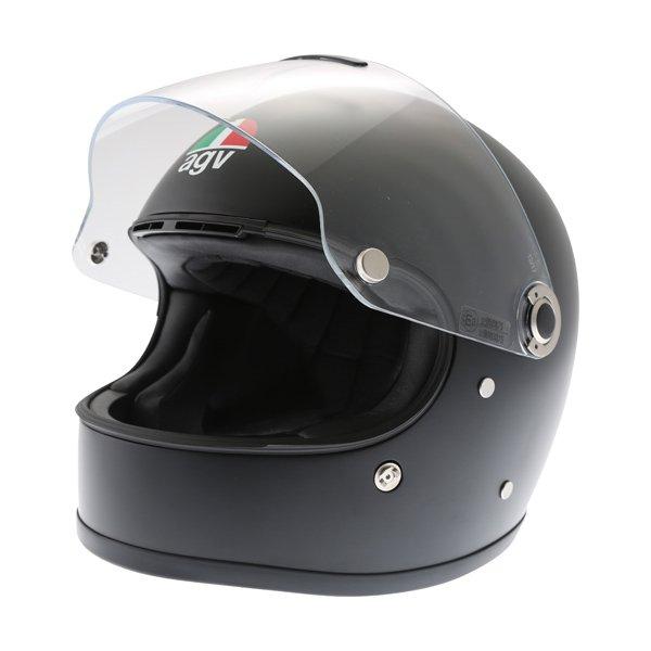 AGV X3000 Matt Black Full Face Motorcycle Helmet Open Visor