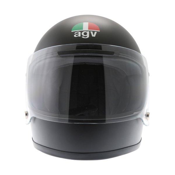 AGV X3000 Matt Black Full Face Motorcycle Helmet Front