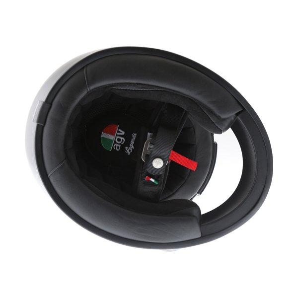 AGV X3000 Matt Black Full Face Motorcycle Helmet Inside