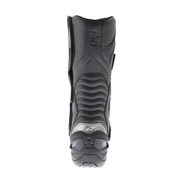 Alpinestars Pikes Drystar Black Motorcycle Boots Heel