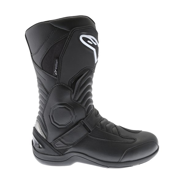 Alpinestars Pikes Drystar Black Motorcycle Boots Outside leg