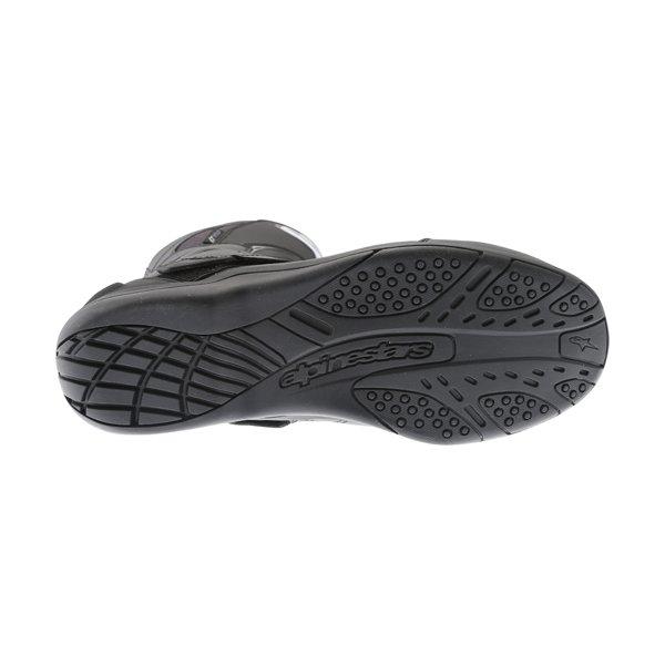 Alpinestars Pikes Drystar Black Motorcycle Boots Sole