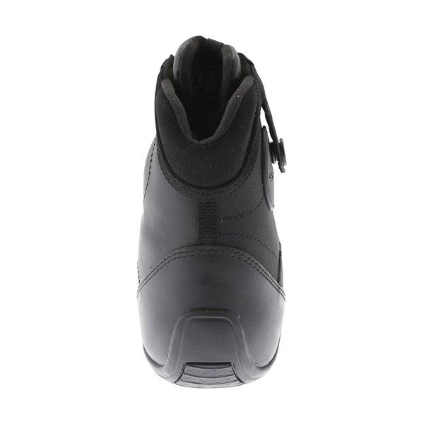 Alpinestars AST-1 Drystar Black Grey Motorcycle Shoes Heel