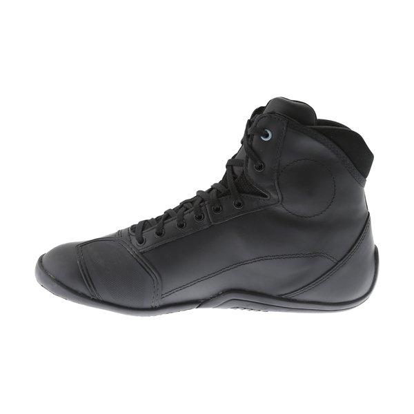 Alpinestars AST-1 Drystar Black Grey Motorcycle Shoes Inside leg