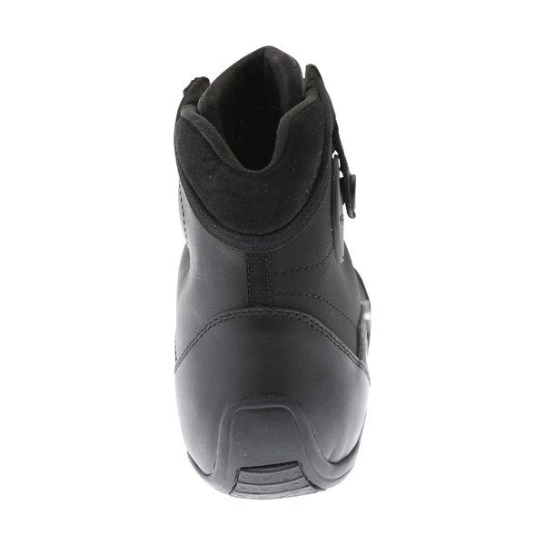 Alpinestars AST-1 Drystar Black Red Motorcycle Shoes Heel