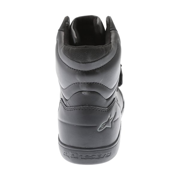 Alpinestars Lunar Drystar Black Motorcycle Shoes Heel