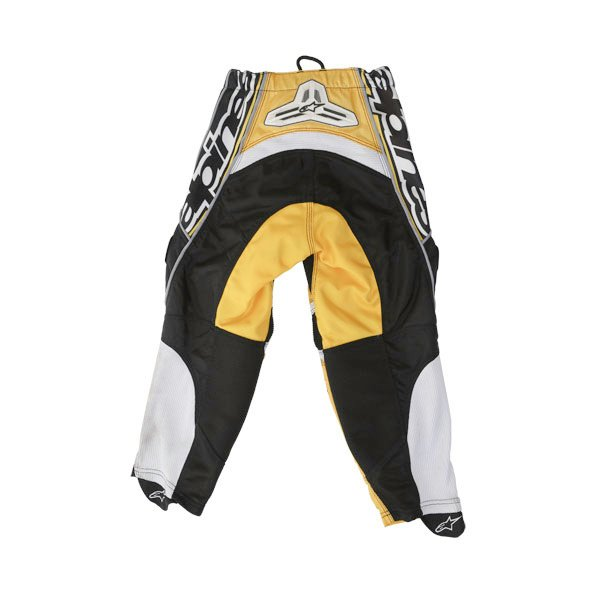 Alpinestars Kids Racer Yellow MX Pants Rear