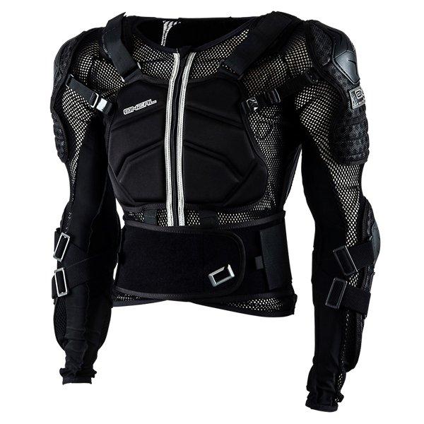 Underdog Armour Black Motocross Armour