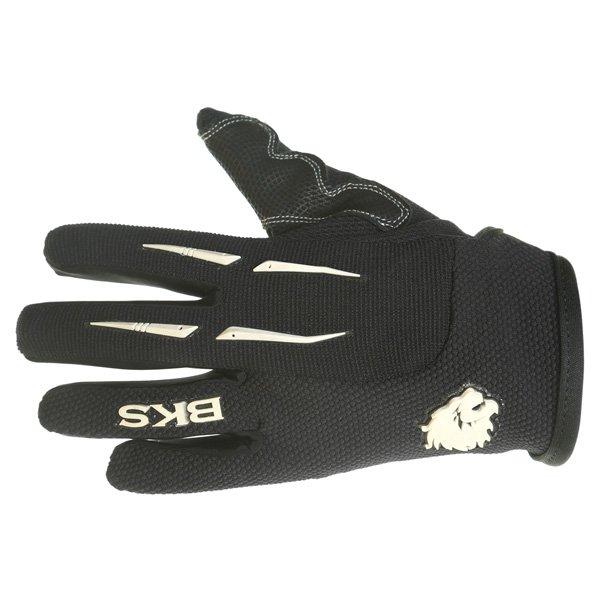 BKS Freestyle Kids MX Black Glove Back