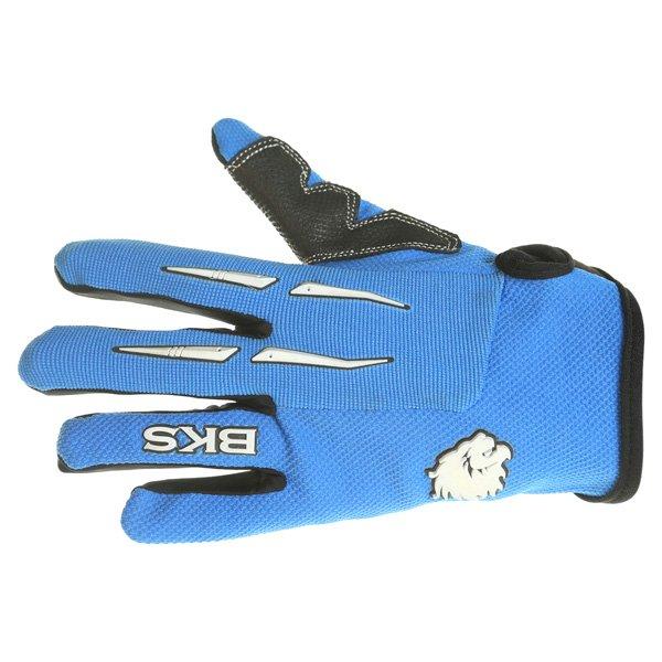 BKS Freestyle Kids MX Blue Glove Back