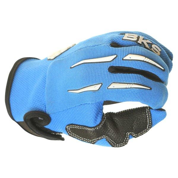 BKS Freestyle Kids MX Blue Glove Knuckle