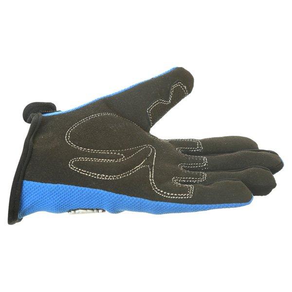 BKS Freestyle Kids MX Blue Glove Little finger side