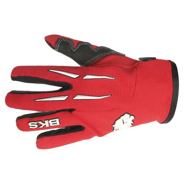 BKS Freestyle Kids MX Red Glove Back