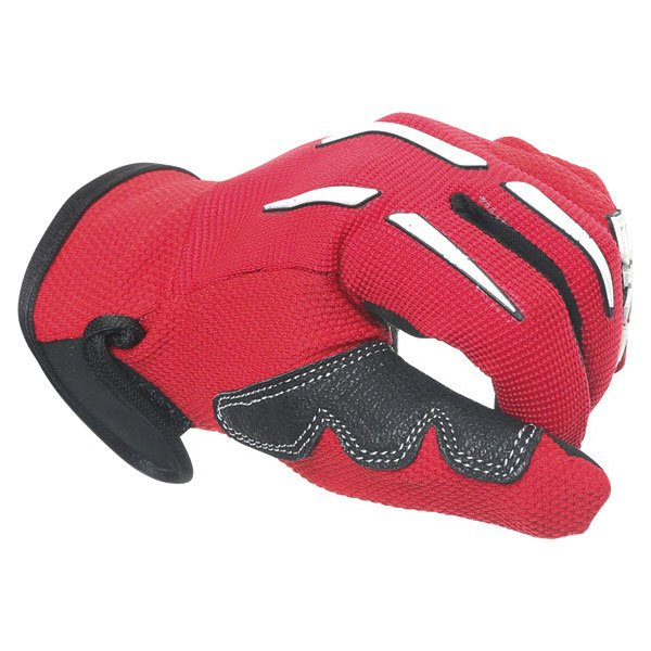 BKS Freestyle Kids MX Red Glove Knuckle