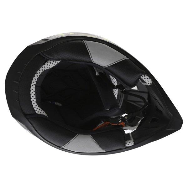 BKS 315 Piston Adult MX Green Helmet Inside