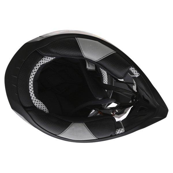 BKS 315 Piston Adult MX Blue Helmet Inside