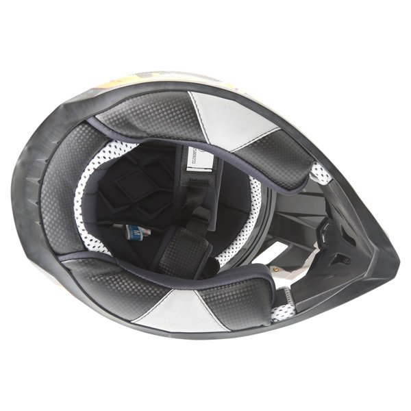 BKS 315 Piston Adult MX Orange Helmet Inside