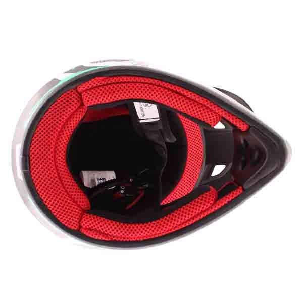 BKS 303 Piston Kids MX Green Helmet Inside