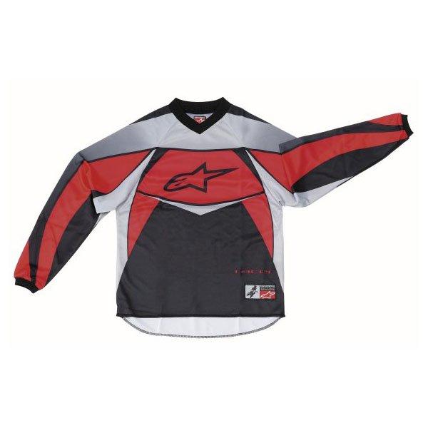 Alpinestars Racer Kids XIV Red MX Jersey Front
