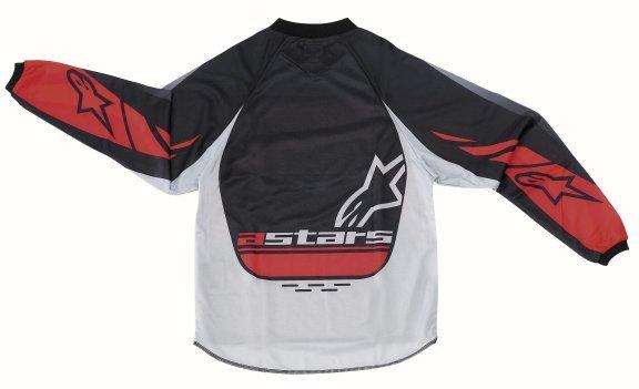 Alpinestars Racer Kids XIV Red MX Jersey Back