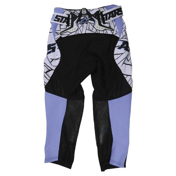Alpinestars Charger Kids XIV Black Blue MX Pants Rear