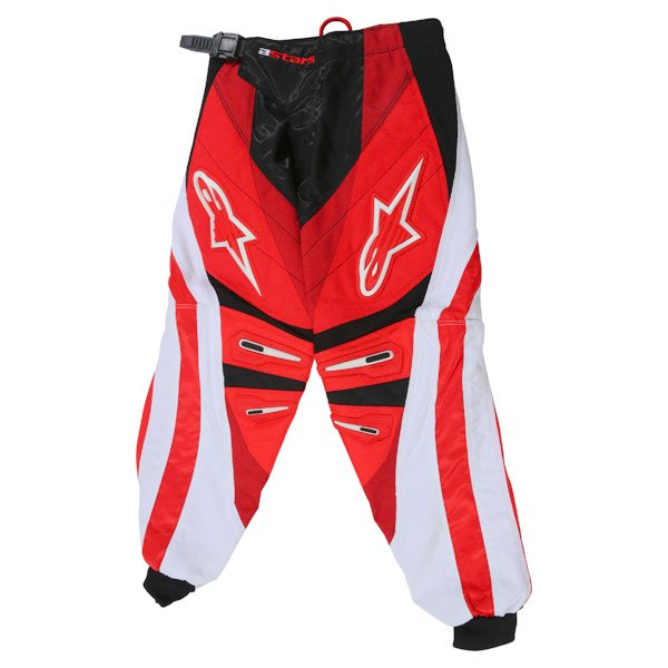 Alpinestars Charger Kids XIV Red MX Pants Front