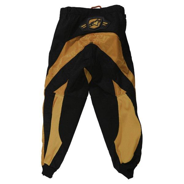 Alpinestars Charger Kids XIV Yellow MX Pants Rear