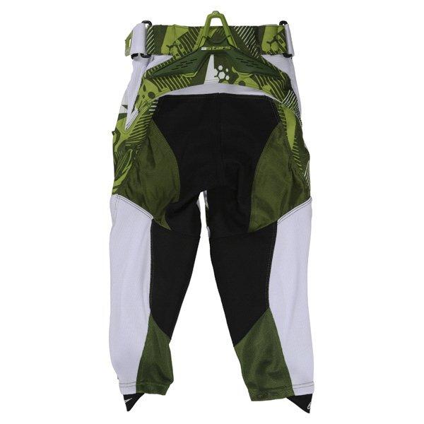 Alpinestars Charger Kids XIV Green Motocross Pants Rear