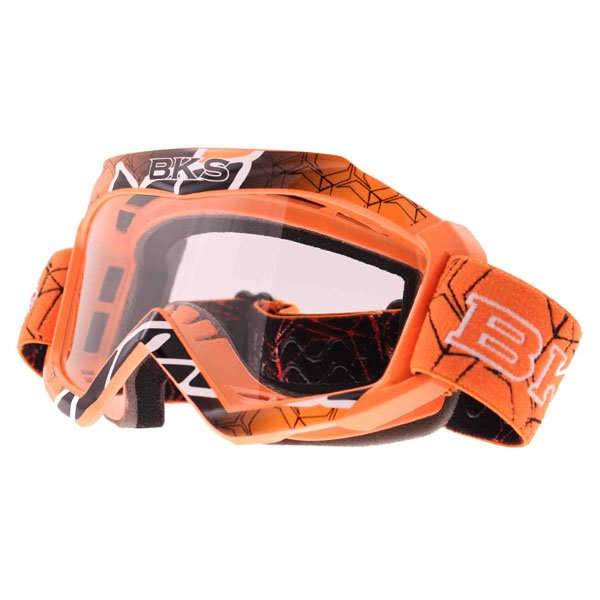 Adult MX Goggle Orange Motorcycle Helmets