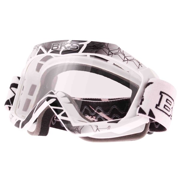 Adult MX Goggle White Motorcycle Helmets
