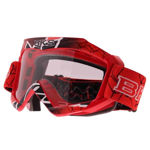 Adult MX Goggle Red Motorcycle Helmets