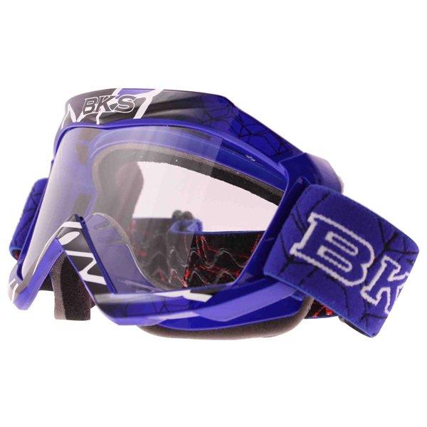 Adult MX Goggle Blue Motorcycle Helmets
