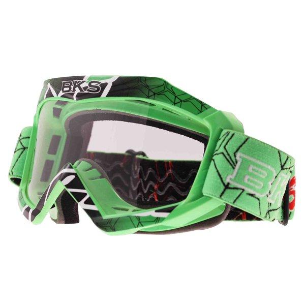 Adult MX Goggle Green Motorcycle Helmets