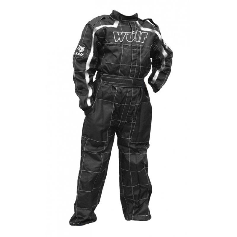 Cub Race Suit Black Wulfsport