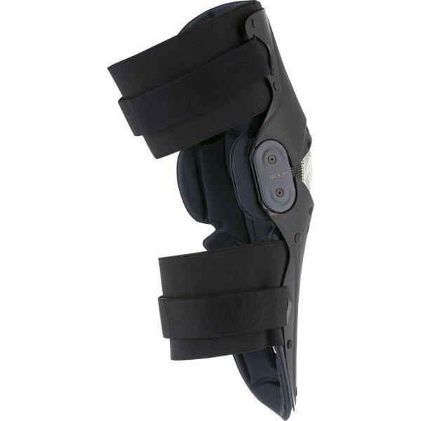 Alpinestars SX-1 Black Grey MX Knee Guards Back