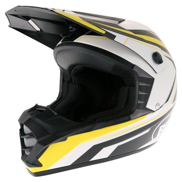 SX-1 Storm Helmet Yellow Discount Motorcycle Gear